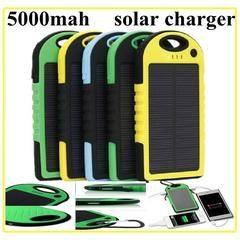 Baterie externa cu incarcare solara 5000mAh