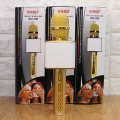 Microfon Karaoke cu USB/Bluetooth/TF Card SD-08