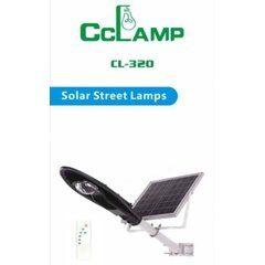 Corp de iluminat pentru exterior cu panou solar si proiector LED 20W-CL-320