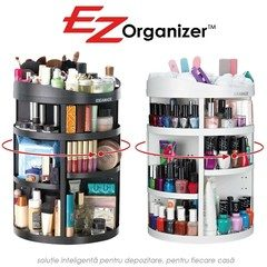 Organizator cosmetice compartimentat rotativ 360° EZ Organizer