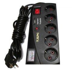 Prelungitor cu protectie si indicator analogic pentru voltaj