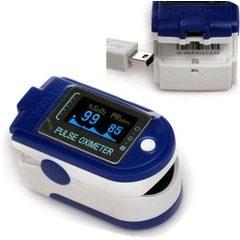 Pulsoximetru profesional pentru a masurarea pulsului si a oxigenului din sange CMS50D+ Pulse Oximeter
