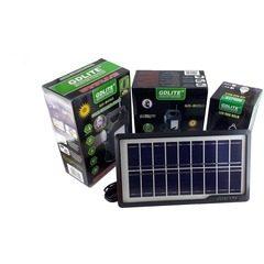 Kit panou solar pentru camping cu 3 becuri, USB, Radio, MP3,GDLITE GD-8050
