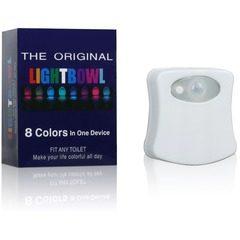 Lampa cu LED pentru vasul de toaleta cu senzor de miscare LightBowl