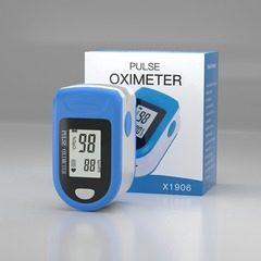 Pulsoximetru de deget pentru monitorizare nivel saturatie oxigen sange si rata pulsului X1906