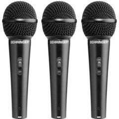 Set de 3 microfoane dinamice vocale Behringer Ultravoice XM1800S