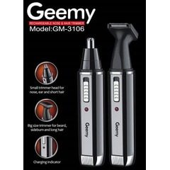 Trimmer facial electric si reincarcabil 2in1 Geemy GM-3106