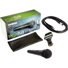 Microfon profesional dinamic cu fir Shure PGA58