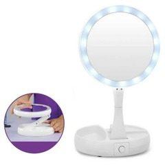 Oglinda cu iluminare si factor de marire My FoldAway Mirror