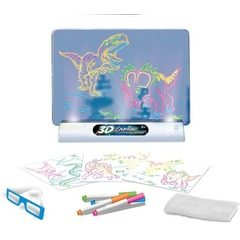 Tabla magica de desenat cu desene 3D Magic Drawing Board
