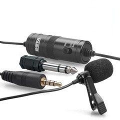 Microfon lavaliera omnidirectional pentru camere foto si Smartphone Boya BY-M1