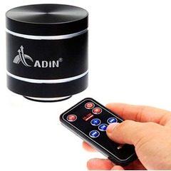 Boxa portabila cu amplificare prin vibratii si sunet 360 de grade Radio cu MP3