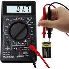 Multimetru digital DT-830B, masurare dioda