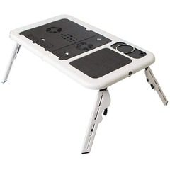 Masuta multifunctionala pentru laptop cu 2 ventilatoare E-Table