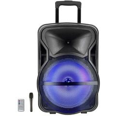 Boxa tip troler JRH A152, cu Bluetooth, microfon si telecomanda, 300 Watti