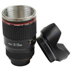 Cana termos in forma de obiectiv foto ESF28-135mm, cu interior inox