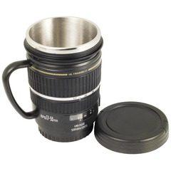 Cana termos obiectiv foto EFS 17-55mm, cu interior inox