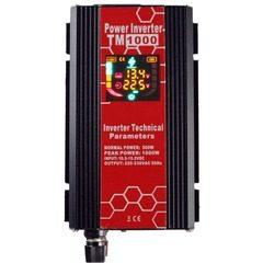 Invertor auto cu display digital 1000 W, tensiune 12V-220V