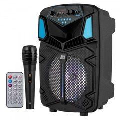 Boxa portabila cu Bluetooth si microfon Wireless, 300W, JRH H8