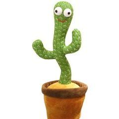 Jucarie cactus vorbitoare care imita, danseaza si canta