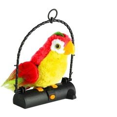 Papagal vorbitor jucarie de plus interactiva care repeta cuvinte